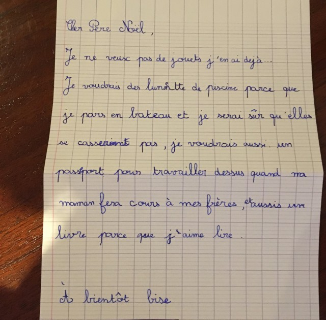 Lettre de GG