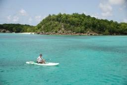 Marie-Galante et ses eaux turquoises